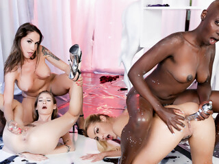 Cherry Kiss & Malena Nazionale & Tiffany Tatum & Zaawaadi in My Name is Zaawaadi - Part 3 iceporn big tits cunnilingus fetish