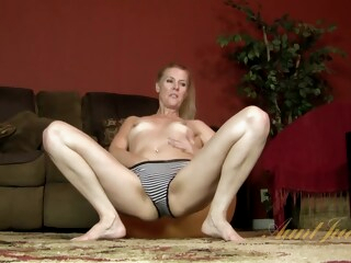 AuntJudys - Lacy Solo iceporn blonde hd milf