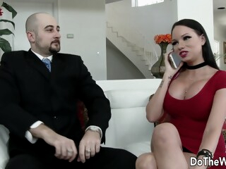Raven Bay - Watch Me Fuck Your Wife iceporn big tits brunette cuckold