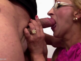 CreampieMature Alex E26 iceporn blonde creampie fetish
