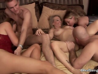 Swinger party iceporn amateur blonde group sex