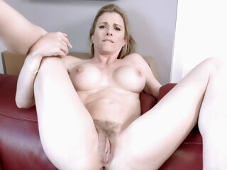 Fucking my Step Mom in the Ass while she is Stuck to the Couch - Cory Chase iceporn amateur anal big tits