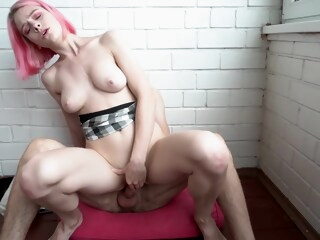 Rough Sex on the Balcony. Neighbors are Shocked iceporn amateur couple hd
